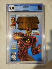 Iron Man #290 CGC 9.8! Gold Foil Cover! 30th Anniversary Issue! Nice Comic!