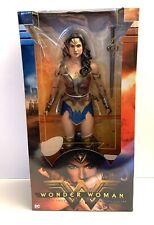 "NECA 1/4 scale 18"" DC Wonder Woman Ultimate Collectors Edition Action Figure MIB"