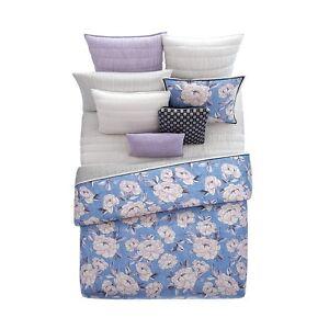Sky Fiona Dobby Stripe 230 Thread Count 100% Cotton Standard Pillowcases D5145
