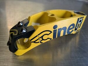 "Cinelli Alter 130mm Stem Saeco 25.4.m Handlebar Clamp 25.4mm Steerer 1"""