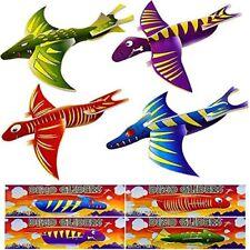 German Trendseller® - 4 x Dino Flug - Gleiter | Flugsaurier | Jurassic