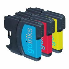 3 C/M/Y Ink Cartridges compatible with Brother DCP-195C MFC-290C MFC-490CW