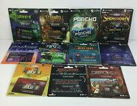Steam Games Geekfuel Prepaid Card Lot of 11