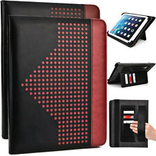 9.7 inch Patent Leather Protective Tablet Folding Case Cover & Stand MUEP-3