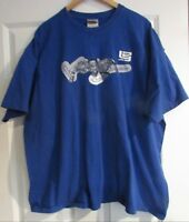 Nike Air King Lebron James Blue T-Shirt XXL EUC
