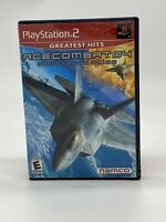 Ace Combat 04: Shattered Skies (PlayStation 2 PS2) Game Action Battle RARE!