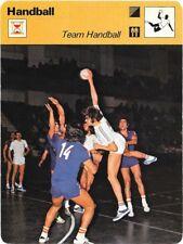 1977 Sportscaster Card Handball Team Handball # 09-04 NRMINT/MINT.