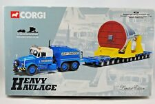 Corgi 1:50 SCAMMELL Truck & Trailer in ECONOFREIGHT HEAVY TRANS Limited Edition