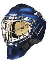 New Vaughn 7700 Cat Eye goalie helmet navy senior small blue Sr hockey goal mask