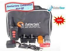 Aetertek AT-918C-2 600 Yard 9 Level 2 Dog Training Anti Bark & Waterproof Collar