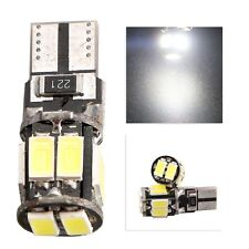 200X No Error CANBUS T10 5630 10SMD Car Auto LED Light bulbs 12V DC 194 192 147