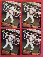DEREK JETER 1993 Classic Best Gold Rookie #115 (4) Baseball Cards Investment LOT