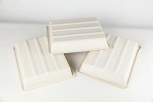 White Developing Dishes - Set of 3 -  10 x 8 inch.  Excellent Condition.