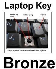 HP Keyboard KEY - Pavilion dv3000 dv3-1000 dv4-1000 dv5-1000 dv7-1000 - Bronze