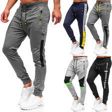 Laufhose Sporthose Trainingshose Jogger Sport Basic Herren Mix BOLF Unifarben