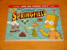 THE SIMPSONS GUIDE TO SPRINGFIELD MATT GROENING ARE WE THERE YET BOOK 98 1st Ed