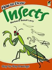 NEW - How to Draw Insects (Dover How to Draw) by Barbara Soloff Levy