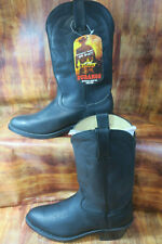 Durango 11in. Oiled Leather Western Boot  Black Size 13  Model# TR760 #1383