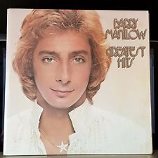Barry Manilow - Greatest Hits - 1978 gatefold double LP + inserts