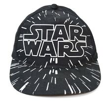 STAR WARS Black Silver Adjustable Snapback Baseball Hat