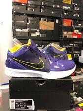 Nike Zoom KOBE BRYANT Undefeated IV Protro Purple Mamba 4 81 vi grinch v size 10