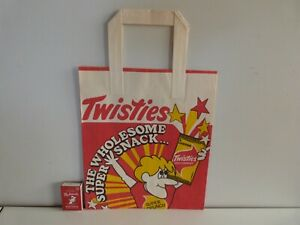 TWISTIES SNACK CHIPS Vintage 1960's Promotional Paper Show Bag *RARE*