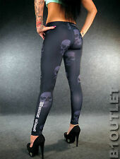 YAKUZA Premium Leggings GL4 Schwarz XS S M L XL sexy Damen Totenkopf Leggins L3
