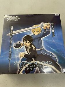 Weiss Schwarz Japanese Sword Art Online Alicization Sealed Booster Box 16 Packs