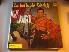 Rudy Hirigoyen La Belle de Cadix CBS XOC 163 Vintage French Record France