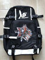 Persona 5 Joker Backpack Schoolbag Canvas Laptop Student Travel Bags Black