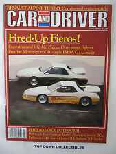 Car and Driver Magazine  June 1985   Buying A Car In Europe