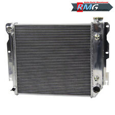Aluminum Radiator For 1987-2002 Jeep Wrangler TJ YJ V8 Conv 1989 1995 1998 2000