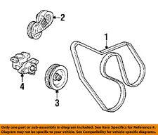 GM OEM-Serpentine Drive Fan Belt 19244952