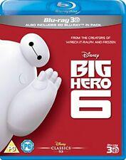 Big Hero 6 [Blu-ray 3D + Blu-ray] [DVD][Region 2]