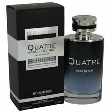 Quatre Absolu de Nuit for Men Boucheron Eau de Parfum Spray 3.3 oz - New in Box