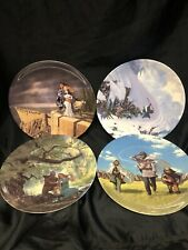 4 x Decorative Wedgewood The Lord Of The Rings Plates Ted Nasmith