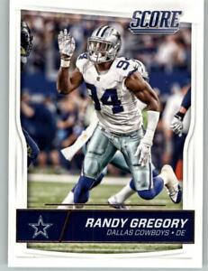2016 Score Football #94 Randy Gregory - Dallas Cowboys