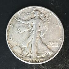 1920-S Walking Liberty Half - High Quality Scans #F113