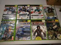 Lot of 8 original xbox Games