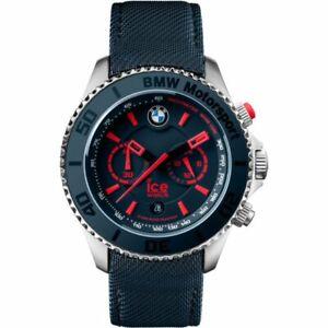 Ice BMW Motorsport Men's Chronograph Blue Strap Quartz Watch 001122 RRP £249.00