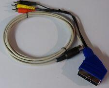 Commodore und Atari SCART Kabel Composite Video (FBAS) 2 Meter.