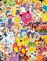 Pokemon Stickers Vinyl Kids Reward Treat Party PC School Loot Bag PoGo Pikachu