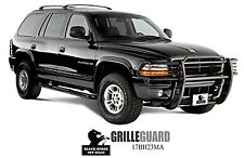 Black Horse 1998-2003 Dodge Durango Sport Black Grille Brush Guard 17BH23MA
