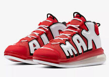Nike Air More Uptempo 720 QS 2- Uk Size 10.5- EUR 45.5 Red & White