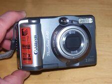 Canon PowerShot A40 2.0 MP Digital Camera - Metallic Grey