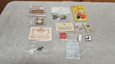 Dollhouse Miniatures Tools, Door Knob, Ice Cream Freezer, Notebook/Pencil - New