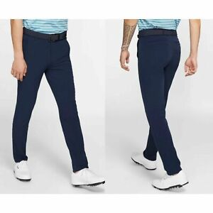 NWT Nike Golf Flex Vapor Slim Fit Pants BV0273 451 Navy Size 30x34