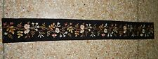 Antique Chinese Hand Embroidery Wall Hanging Tapestry/Panel 113X14cm (X181)