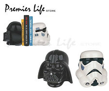 Star Wars Darth Vader & Stormtrooper Bookends