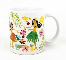 Island Hula Hunnys Coffee Mug ABC Hawaii  8 oz Hula Girls